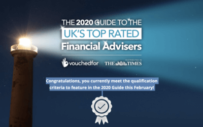 2020 Guide to the UK's Top Rated Financial Advisers